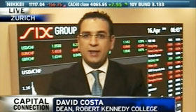Online MBA - Dr. David Costa, dean at Robert Kennedy College